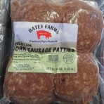 Mild Sausage Patties