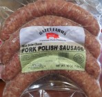 Polish Sausage w/ Swiss Cheese